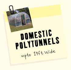 Domestic Polytunnels