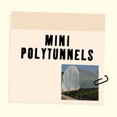 Mini Polytunnels