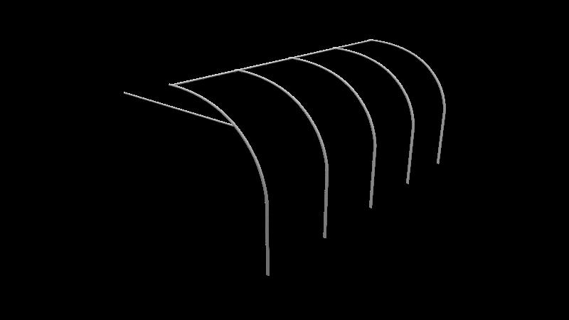 Frame Long Front