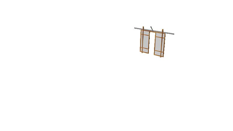 Door Double Slide Back 2