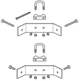 Polytunnel Exhaust Clamps